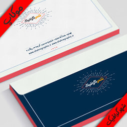 دانلود موکاپ پاکت نامه – Business envelope mockup