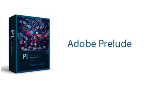 نرم افزار Adobe Prelude