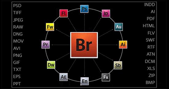 نرم افزار Adobe Bridge