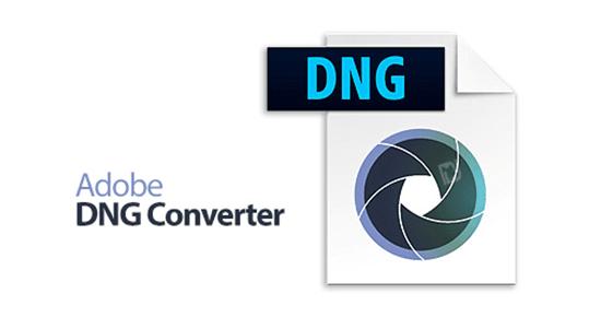 نرم افزار Adobe DNG Converter